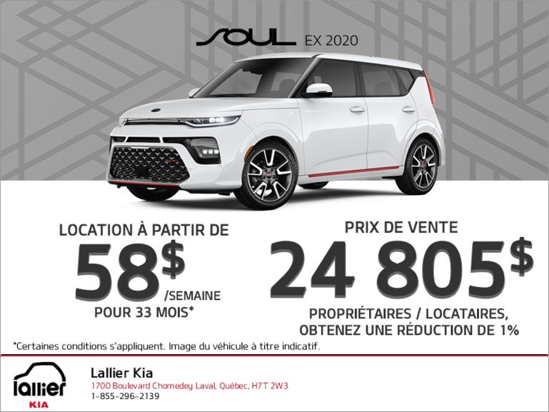 Le Kia Soul 2020