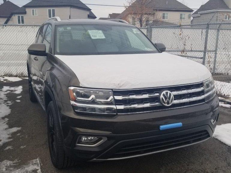 New 2019 Volkswagen Atlas Highline BRUN TERRE MÉTALLISÉ - $52920.0 | Volkswagen Lauzon St ...