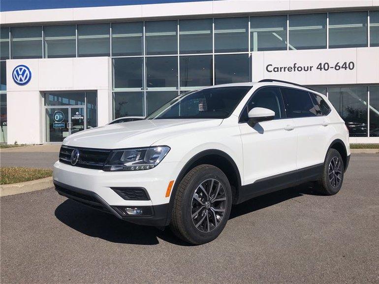 Carrefour 40 640 >> Volkswagen Tiguan Comfortline 2018 Blanc neuf - 36120.0$ | Carrefour 40-640 Volkswagen #180451