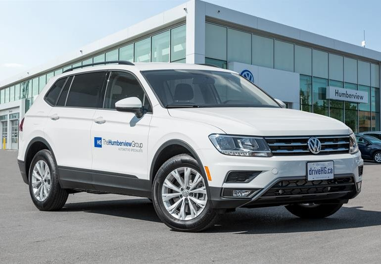 new 2018 volkswagen tiguan trendline 2 0 8sp at w tip 4motion pure white. Black Bedroom Furniture Sets. Home Design Ideas