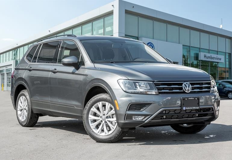 new 2018 volkswagen tiguan trendline 2 0 8sp at w tip 4motion platinum grey met. Black Bedroom Furniture Sets. Home Design Ideas