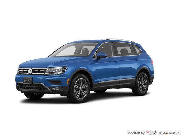 2018 Volkswagen Tiguan Highline 2.0T 8sp at w/Tip 4MOTION