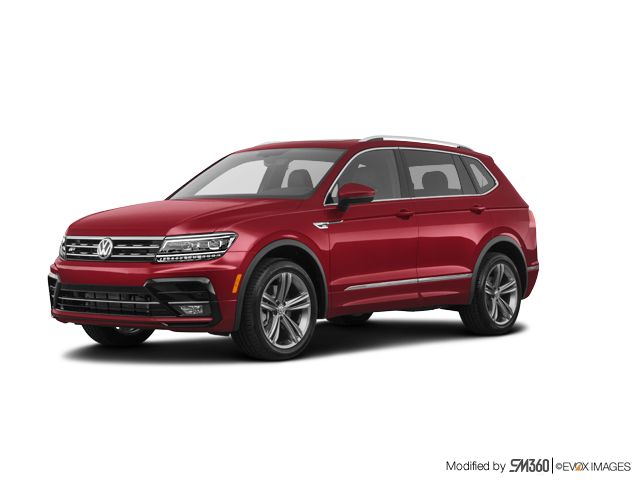 2019 Volkswagen Tiguan Highline 2.0T 8sp at w/Tip 4M