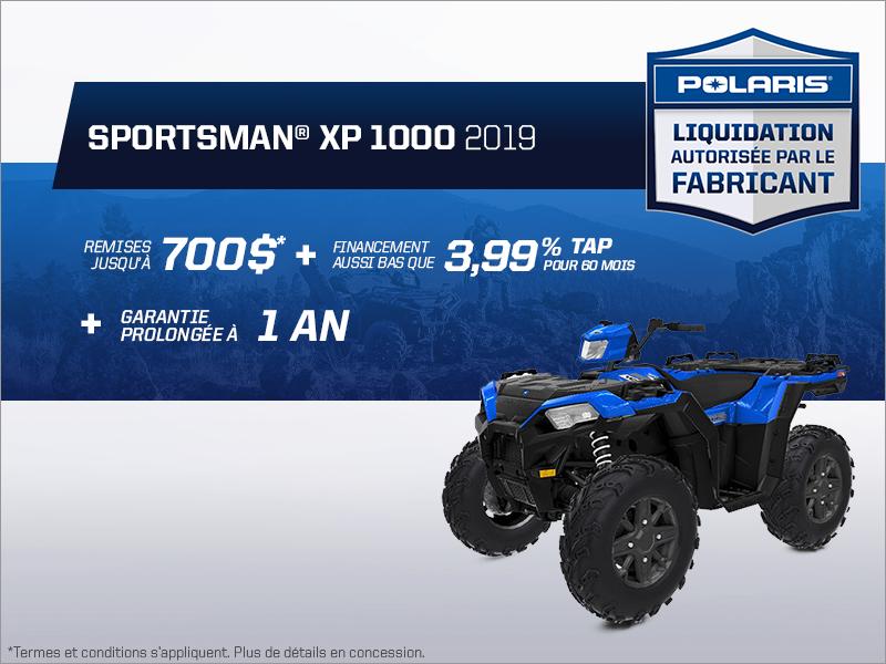 Épargnez sur le Sportsman XP 1000 2019