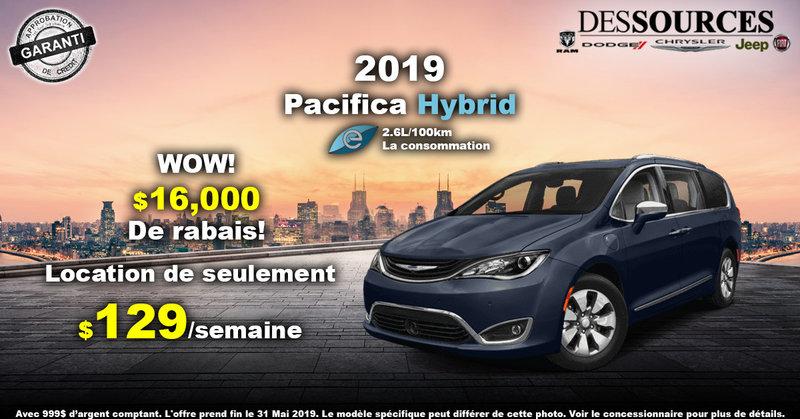 Promo Chrysler Pacifica Hybrid