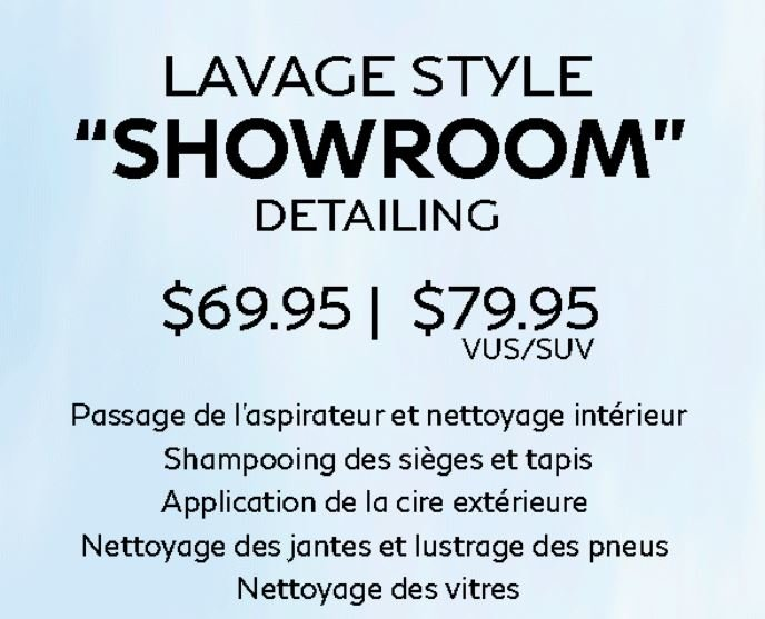 Lavage Style SHOWROOM