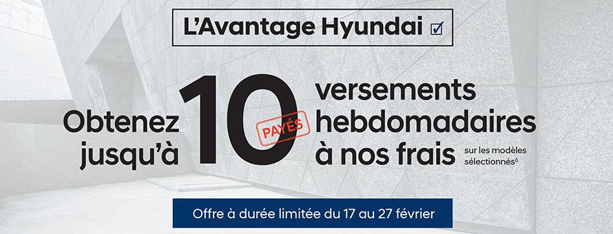 Avantage Hyundai
