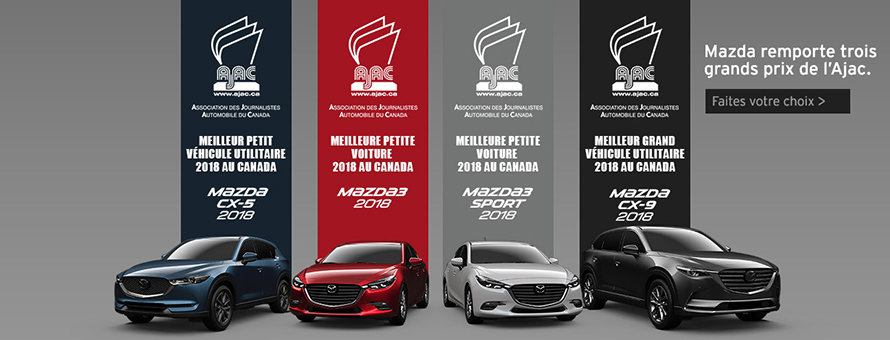 Mazda remporte trois grands prix de l'Ajac