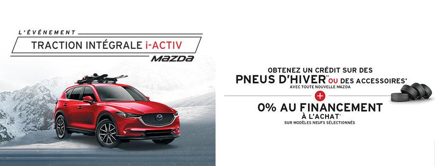 L'Événement tarction intégrale i-activ Mazda