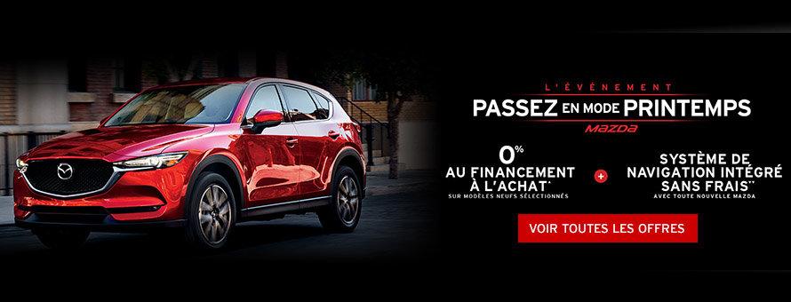 L'évenement passez en mode printemps Mazda