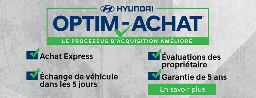 Hyundai optim achat