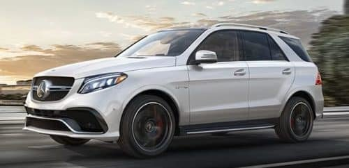 The 2018 GLE SUV, face winter with style.