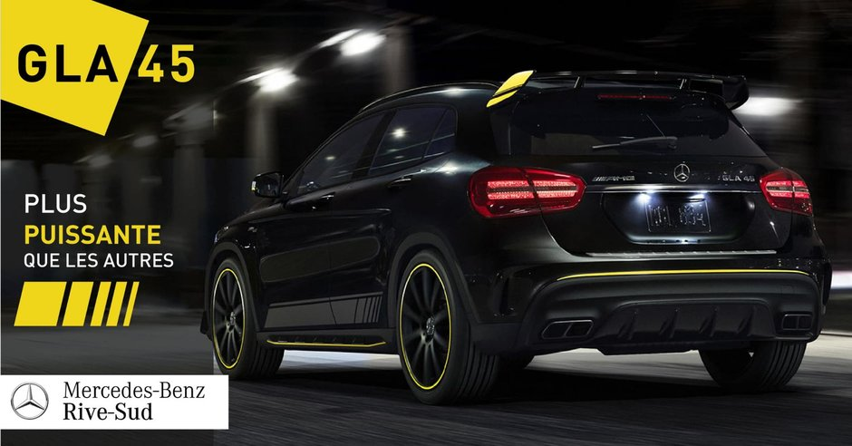 The Mercedes-AMG GLA 45: A New Performance Benchmark.