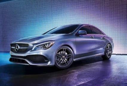 The Mercedes-Benz CLA 2018.