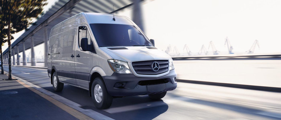 The 2015 Mercedes Sprinter, large load capacity, at a low price!