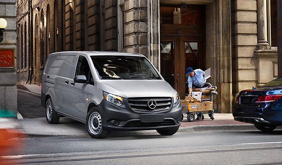 Mercedes-Benz Metris 2016 vs ProMaster City Cargo Van 2016.