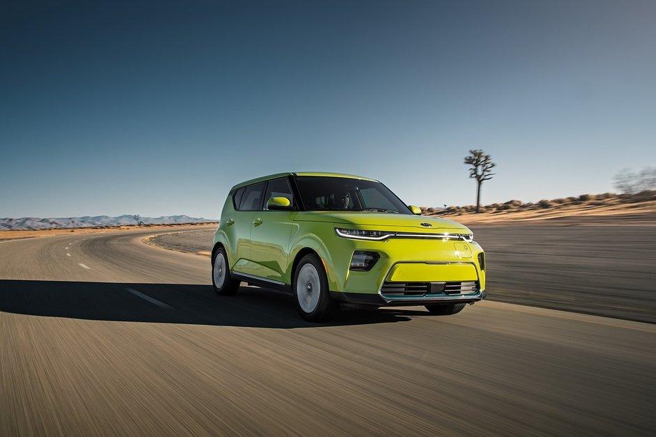 La Kia Soul EV 2020 débutera à 42 595 $