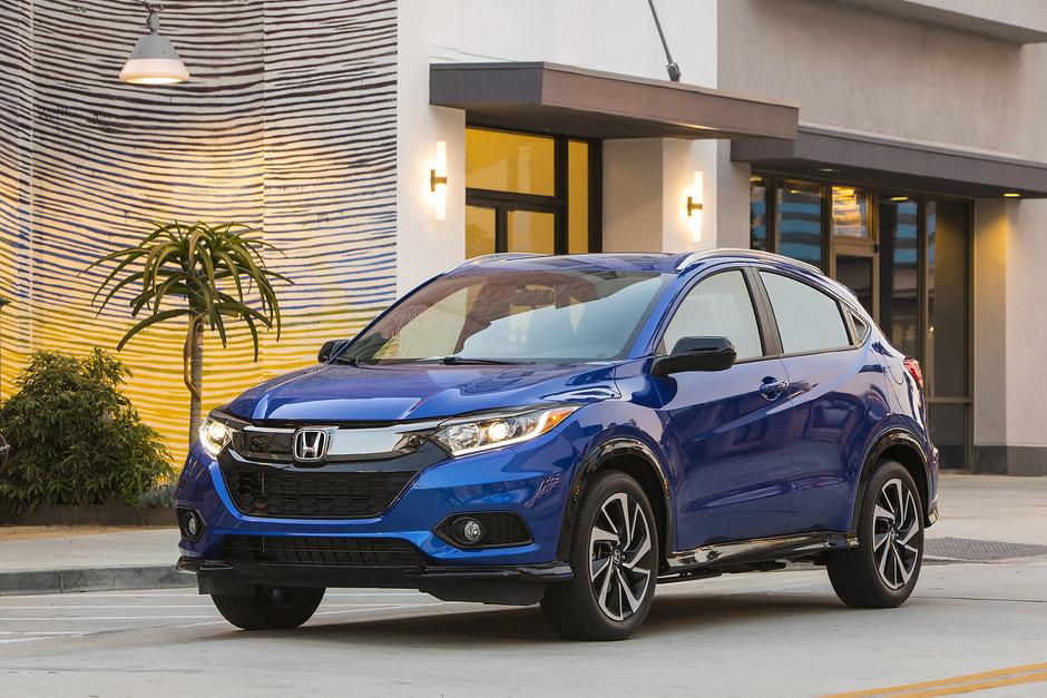 Honda HR-V 2019 : beaucoup d'espace à prix abordable