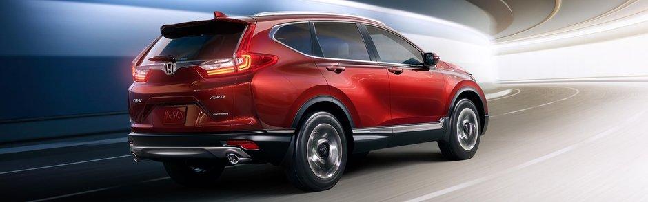 Le Honda CR-V 2019 se démarque sur tous les aspects