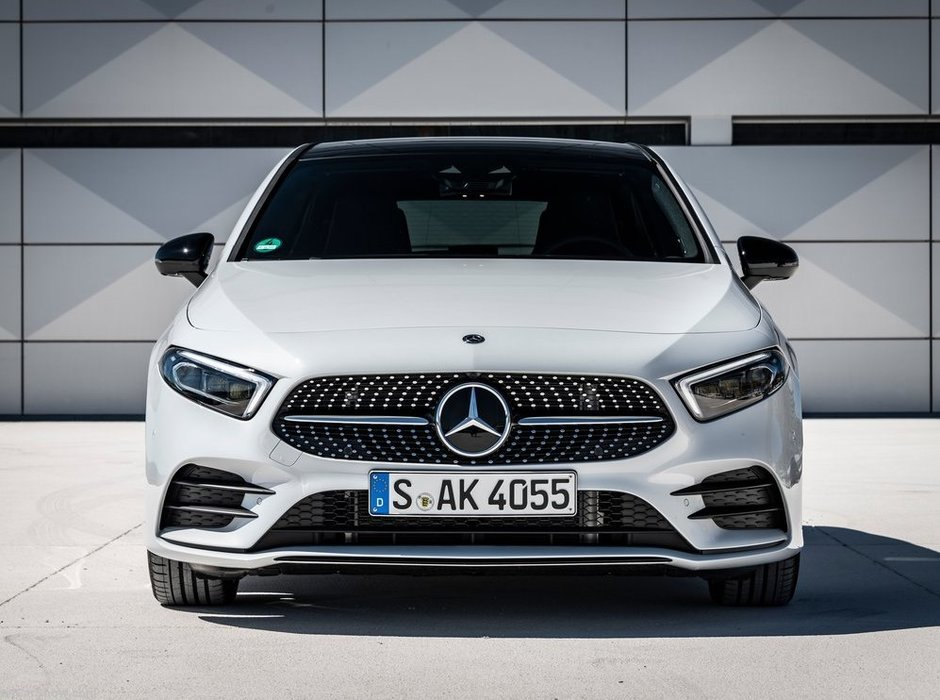 2019 Mercedes-Benz A-Class: Small in size, big on content and technology.
