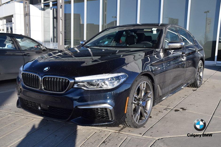 Calgary BMW | 2019 BMW 5 Series M550i xDrive | #N23088