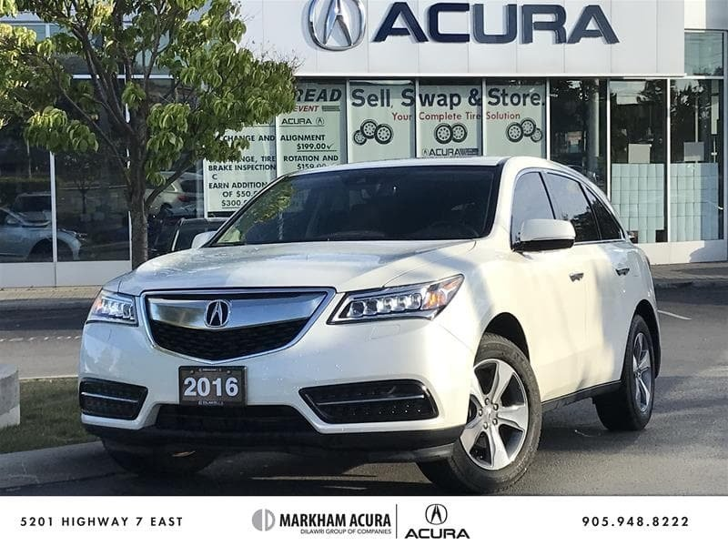 2016 Acura MDX At in Markham, Ontario - w940px