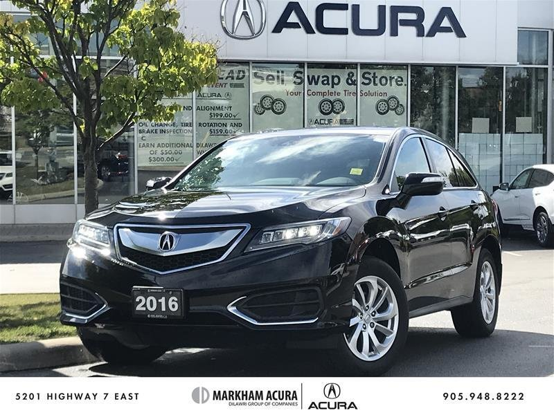 2016 Acura RDX Tech at in Markham, Ontario - w940px