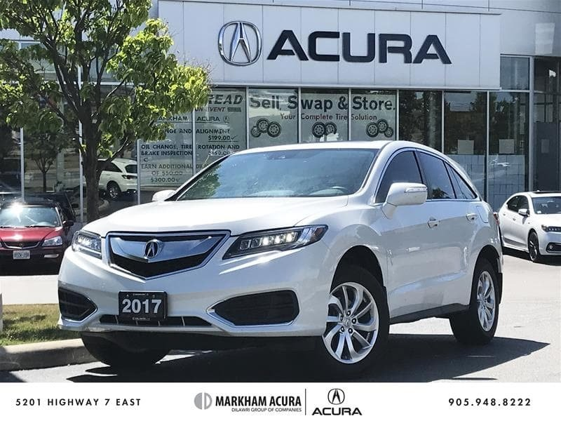 2017 Acura RDX Tech at in Markham, Ontario - w940px