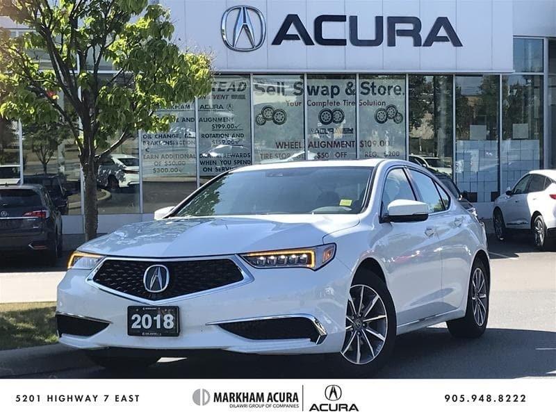 2018 Acura TLX 2.4L P-AWS w/Tech Pkg in Markham, Ontario - w940px