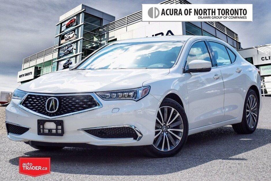 2018 Acura TLX 3.5L SH-AWD w/Tech Pkg in Thornhill, Ontario - w940px