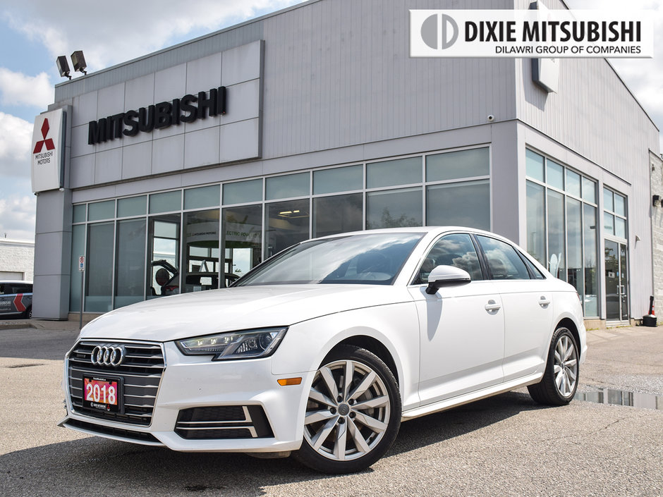 2018 Audi A4 2.0T Komfort quattro 7sp S tronic in Mississauga, Ontario - w940px