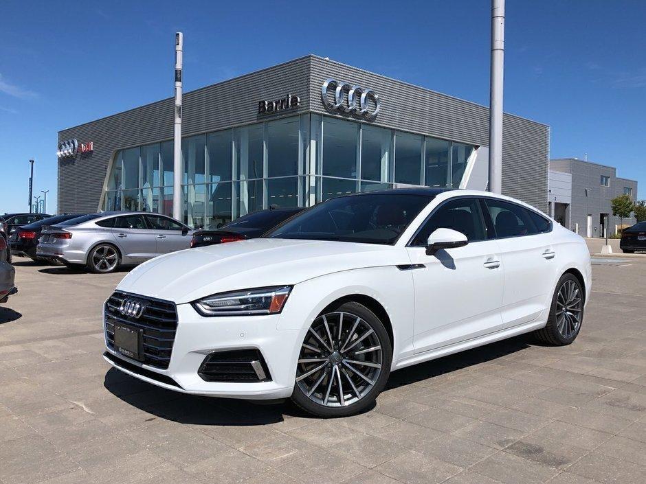 Audi Barrie   2019 Audi A5 Sportback 2.0T Progressiv ...
