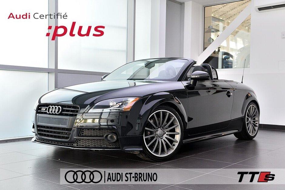 Audi TTS ROADSTER + BLACK OPTICS + RARE 2014 à St-Bruno, Québec - w940px