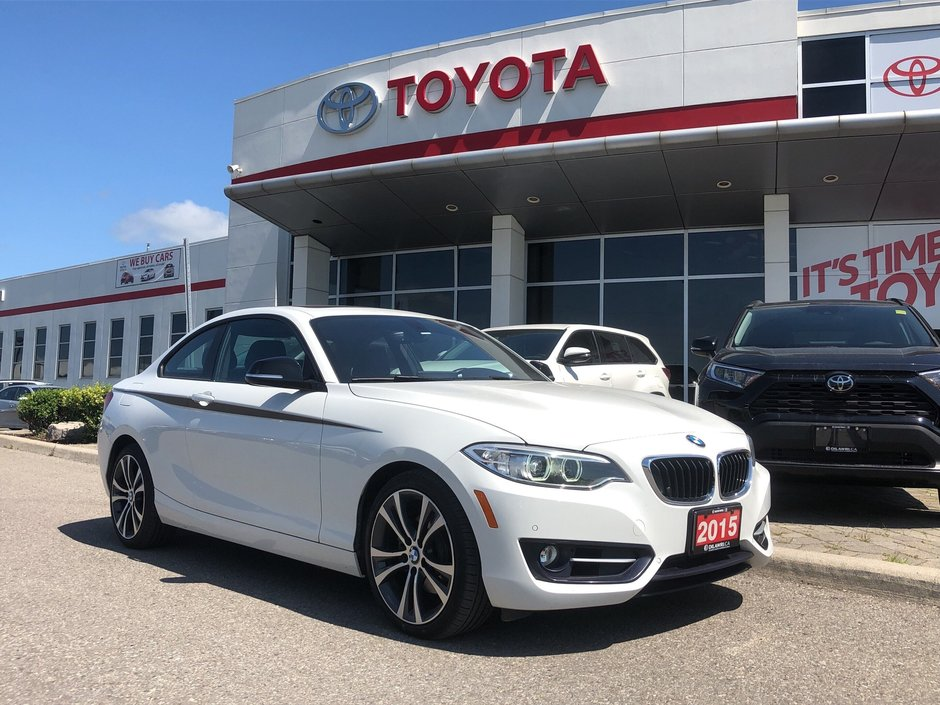 2015 BMW 228i XDrive Coupe in Bolton, Ontario - w940px