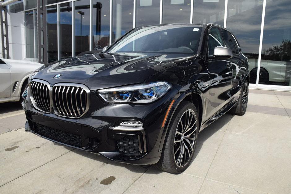2020 Bmw X5 M50i Carbon Black