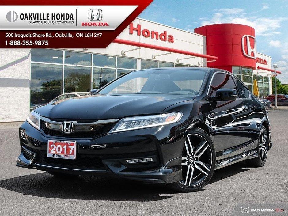 2017 Accord Coupe >> Oakville Honda 2017 Honda Accord Coupe V6 Touring 6mt P3665