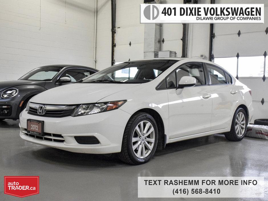 401 Dixie Volkswagen >> 401 Dixie Volkswagen in Mississauga | 2012 Honda Civic Sdn EX-L | #8207A