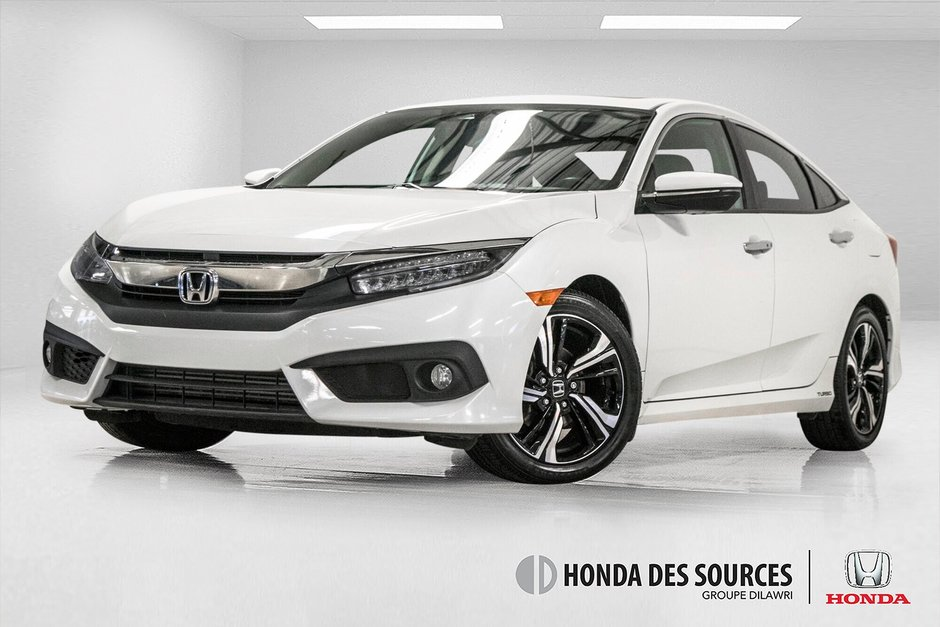 Honda des Sources | 2016 Honda Civic touring Cuir, Nav