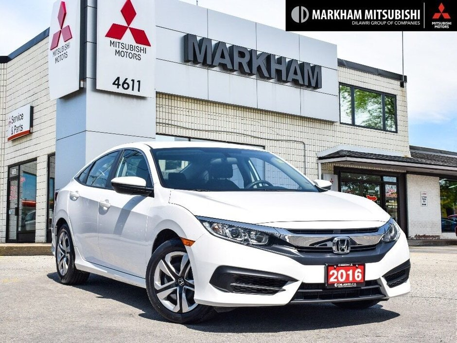 2016 Honda Civic Sedan LX CVT in Markham, Ontario - w940px