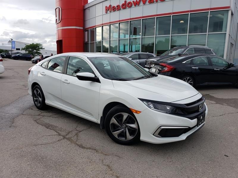 2019 Honda Civic Sedan LX CVT in Mississauga, Ontario - w940px