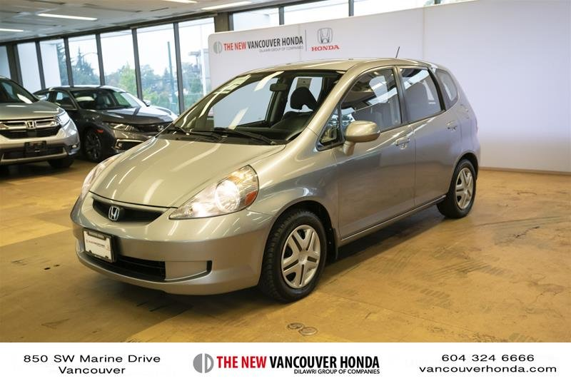2008 Honda Fit Hatchback DX 5sp in Vancouver, British Columbia - w940px