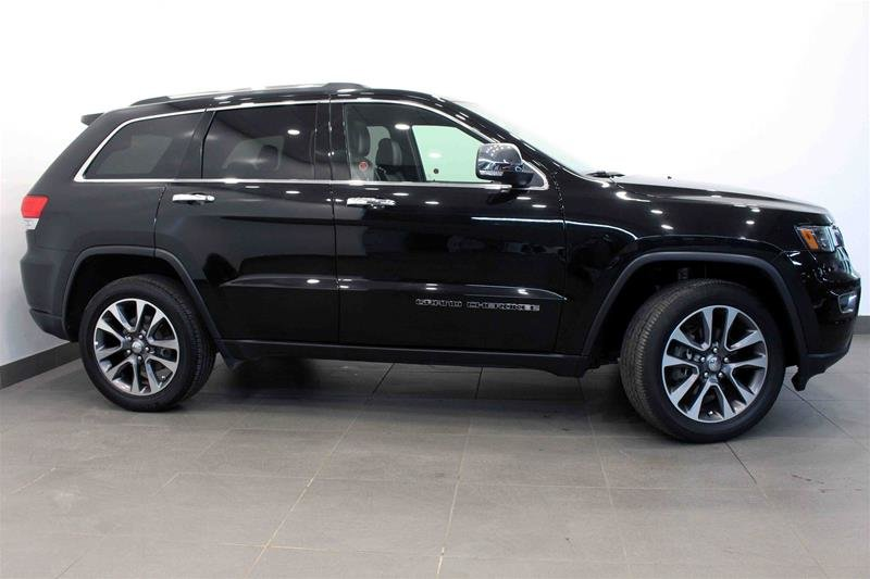 2018 Jeep Grand Cherokee 4X4 Limited Luxury II, Pano Roof, Navi, Park Sensors in Regina, Saskatchewan - w940px
