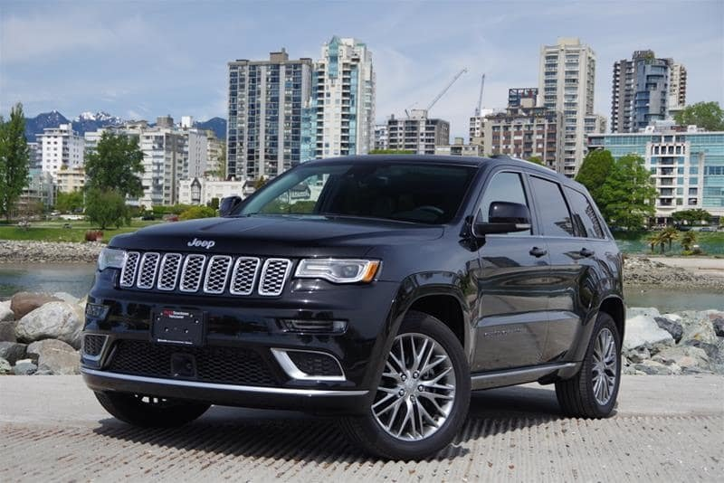 Jeep Summit 2017 >> Audi Downtown Vancouver 2017 Jeep Grand Cherokee 4x4