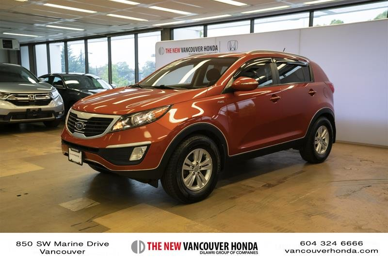 2011 Kia Sportage 2.4L LX AWD at in Vancouver, British Columbia - w940px