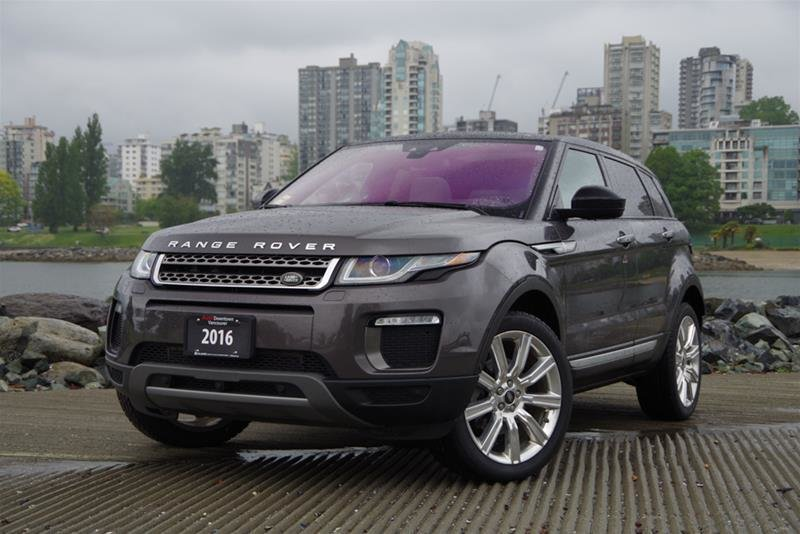 Audi Downtown Vancouver | 2016 Land Rover Range Rover Evoque