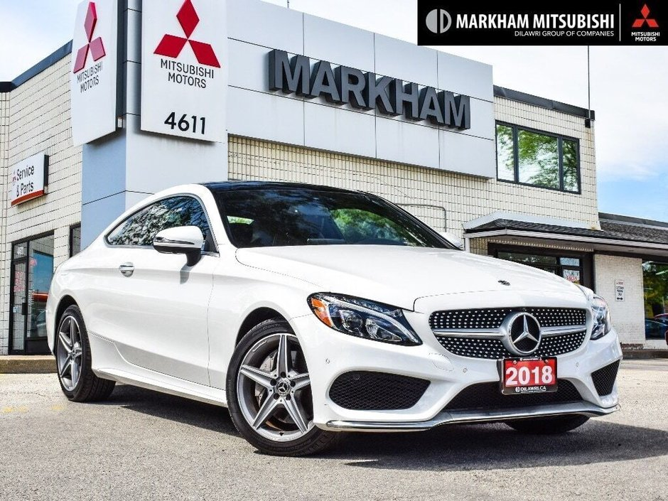 2018 Mercedes-Benz C300 4MATIC Coupe in Markham, Ontario - w940px
