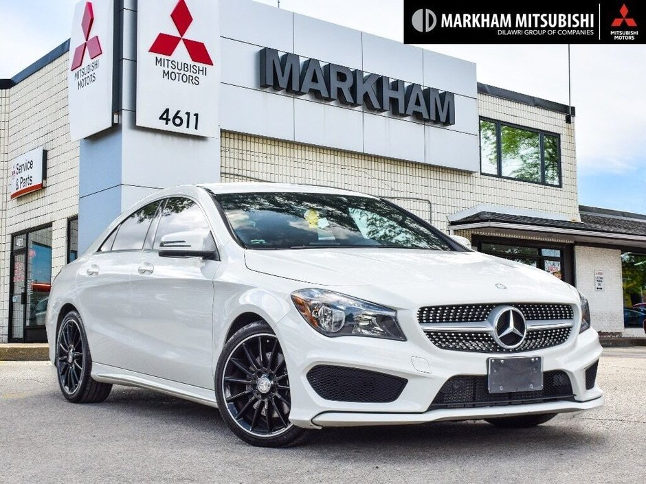 2014 Mercedes-Benz CLA250 4MATIC Coupe in Markham, Ontario - w940px