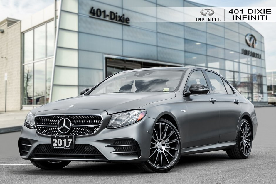 2017 Mercedes-Benz E43 AMG 4MATIC Sedan in Mississauga, Ontario - w940px