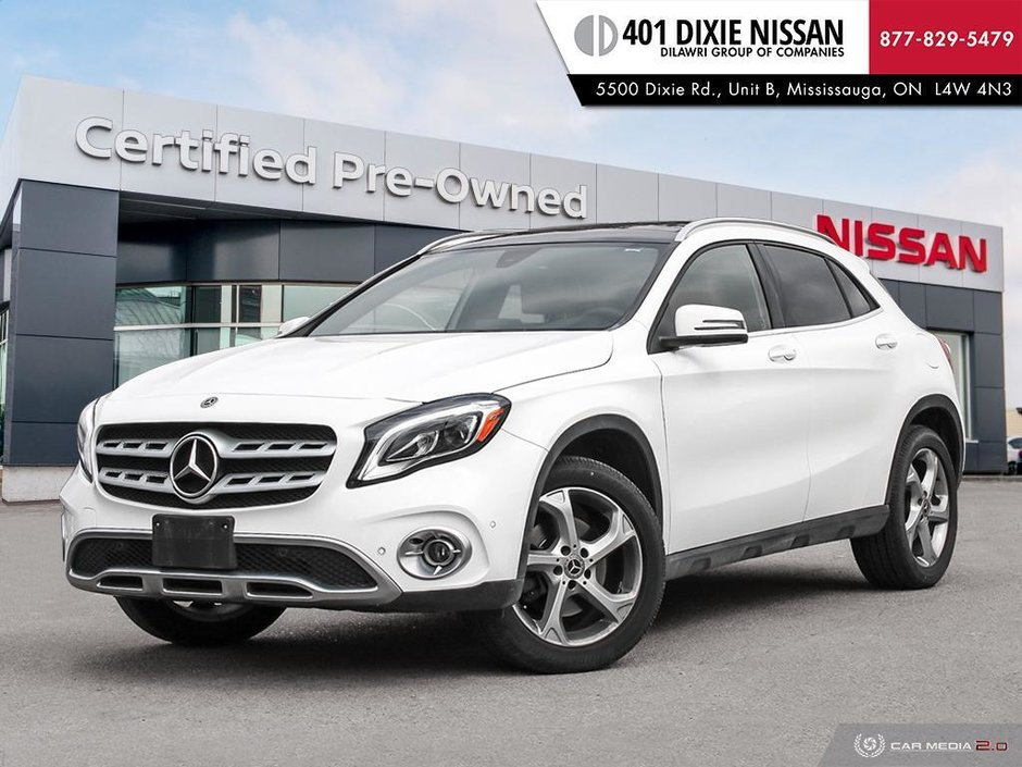 2018 Mercedes-Benz GLA250 4MATIC SUV in Mississauga, Ontario - w940px