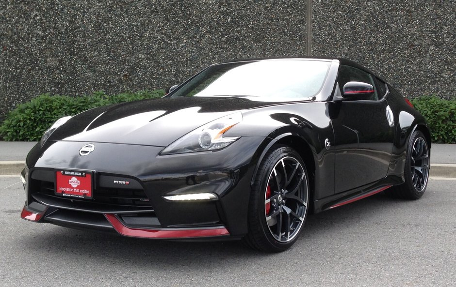 2016 Nissan 370Z Nismo Edition 6sp in North Vancouver, British Columbia - w940px